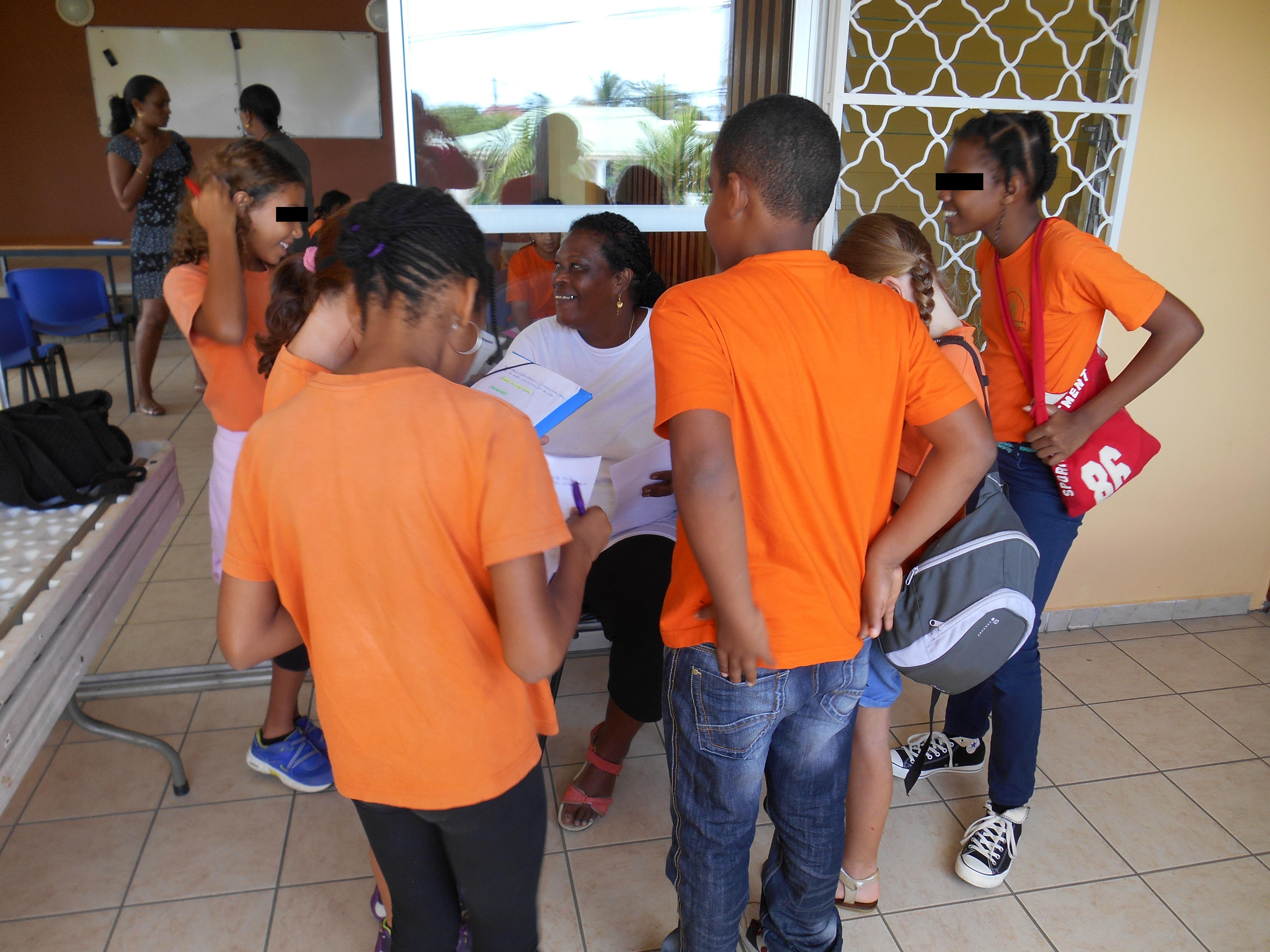 Rencontre avec cubaines